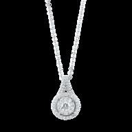 liquidation diamond pendant necklace