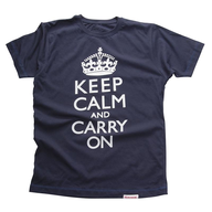 keep calm and carry on mens t shirt in bulk