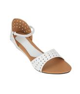 salvage sindhi white sandals