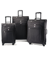 wholesale american tourister pop 3 piece spinner luggage set