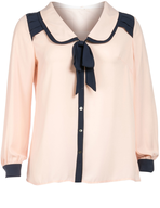 apricot womens blouse suppliers