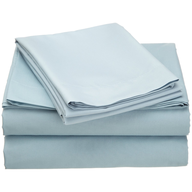 salvage baby blue bed sheets
