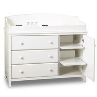baby furniture white changing table in bulk
