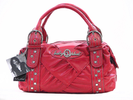 salvage baby phat pink purse