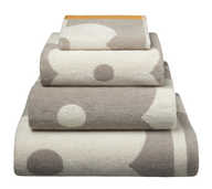 bath towel dots shelf pulls