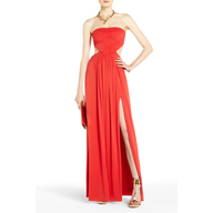 bulk bcbg orange maxi dress