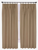 clearance beige drapes
