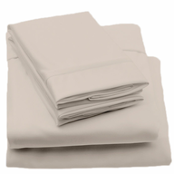discount beige sheets bed
