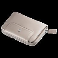 overstock beige small wallet