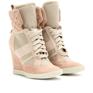 beige sneaker wedge closeouts