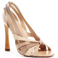overstock beige wedding heel