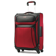 black and red luggage suppliers