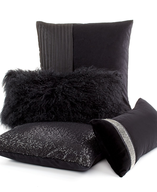 liquidation black decorative pillows