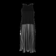 discount black dress maxi