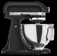 black kitchen aid mixer lots