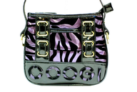 liquidation black purple zebra print