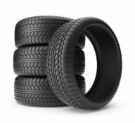 black tires truckloads