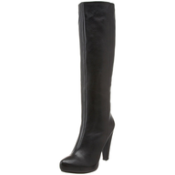 black womens tall boots lots