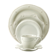 surplus bloomingdales dishware beige