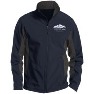 closeout blue adventure hike jacket