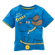 salvage blue childrens shirt