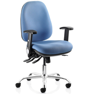blue computer chair closeouts