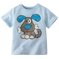 liquidation blue dog childrens shirt