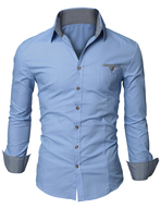 blue dress shirts in bulk