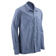 surplus blue long sleeve button down
