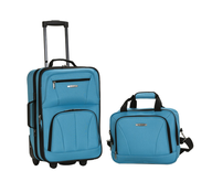 clearance blue luggage