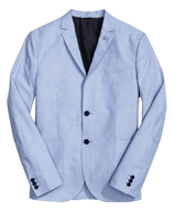 discount blue mens blazer