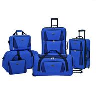 overstock blue multi luggage