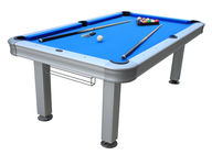 blue outdoor pool table lots