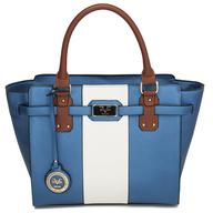 blue versace italia handbag liquidators