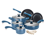 wholesale blueberry porcelain cookware set