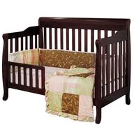brown baby crib convertible liquidators