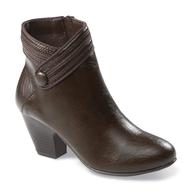 brown boot heel shelf pulls