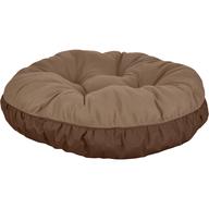 brown dog bed pallets