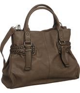 brown kooba bag shelf pulls