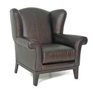 brown leather chair closeouts