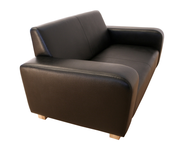 brown leather couch closeouts