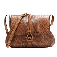 brown leather purse closeouts