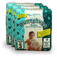 overstock bunny hugs diapers