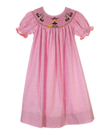 salvage candyland pink dress