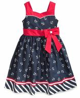 childrens sailor blue dress liquidators