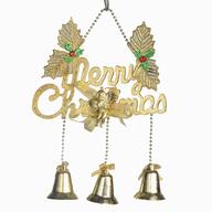 christmas bells shelf pulls