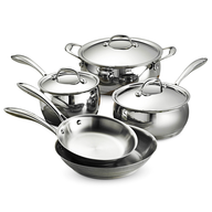 salvage chrome pots and pans