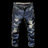 bulk class dim ripped jeans