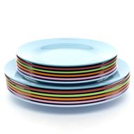 bulk colorful dinner plates