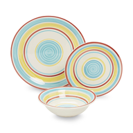colorful dinnerware closeouts